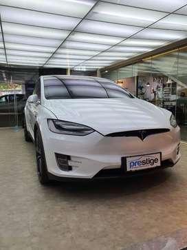 Tesla Model X White 2019