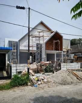 Jasa bangun rumah tropis minimalis Jayakerta