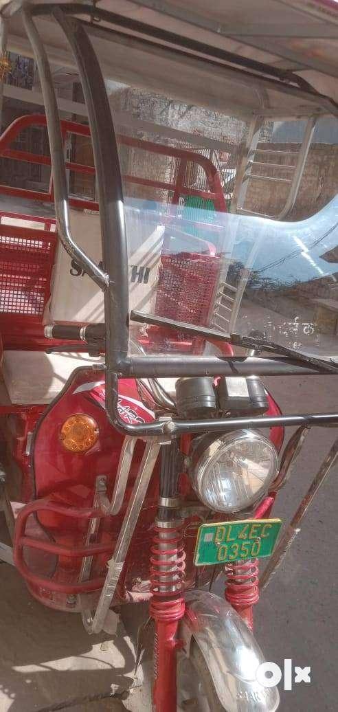 Sarthi loading e rickshaw new condition 2019 0