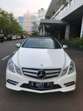 Mercedes-benz Cabriolet E250 2013