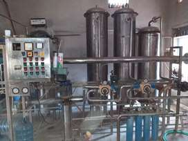 R. O. Water Plant