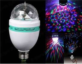 Lampu Led Disco Rotating - Full Color Rotating Lamp - Led 3w
