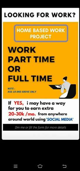 Work From Home (Online)