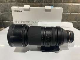 Dijual lensa new Tamron 150-500 f5-6.7 Di III VXD For Sony fullframe