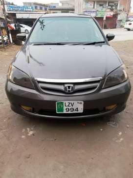 Civic EXI FOR SALE OR EXCHANGe WITH GLIa.XLI 7.8 MODEL