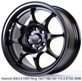 free ongkir KEEROM 83013 HSR R15X7 H8X100-114,3 ET35 SMB