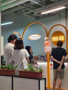 Dicari Pegawai Stand Waffle di Kalibata City Square