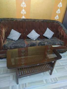 Sofa and centre table