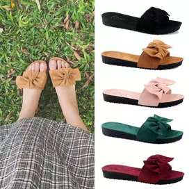 Imported flat shoes in different colors