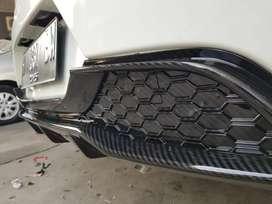 Rear Diffuser Brio RS - Premium Carbon