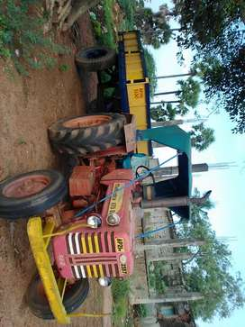 Tractor with truck
