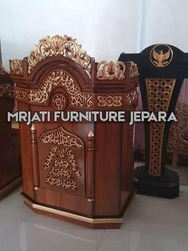 READY TO MIMBAR SIAP KIRIM KIRIM LUAR KOTA KARYA DESIGN