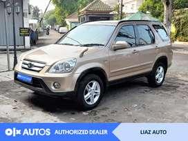 [OLX Autos] Honda CRV 2005 RD 2.4 Bensin A/T Coklat Muda #Liaz Auto
