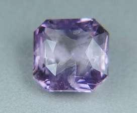 Beautiful cushion purple sapphire safir 2.54ct unheated for GD rings