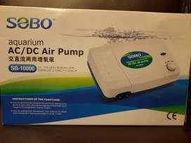 SOBO Rechargeable Double Nozzle Airpump for Aquarium