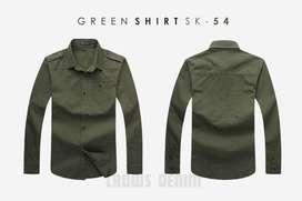 Jaket Blazer Simply Slight Green Style - SK54