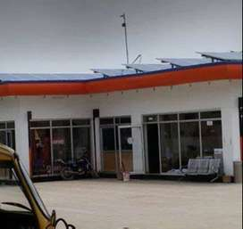 Solar Power for Petrol Pumps or Gas Stations.