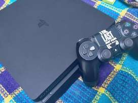 ps4 slim 500gb used condition 10by10 everything is ok