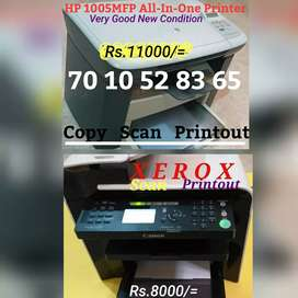 HP 1005MFP Multifaction(Rs.11000)Canon MFP4450d For Sale
