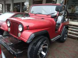 Jeep 72 Model in RED Colour