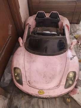 Toy car it is not so old it is still useful