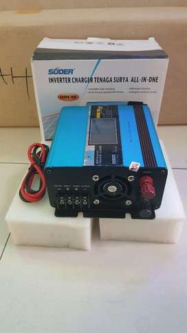 inverter charger tenaga surya all in one 500VA 10A