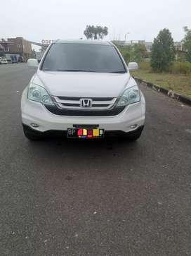 Mobil Honda CRV 2010 White