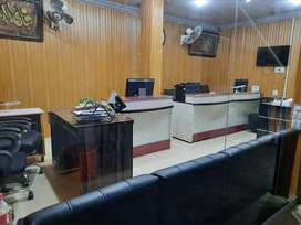 Furnished shop available for rent circular road