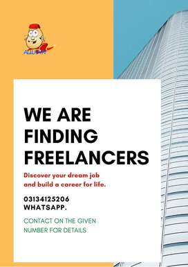 Freelancers Required