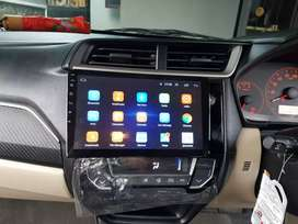 Ddin tv android 10in buat Mobilio + pasang