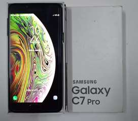 Samsung C7 PRO with box and all