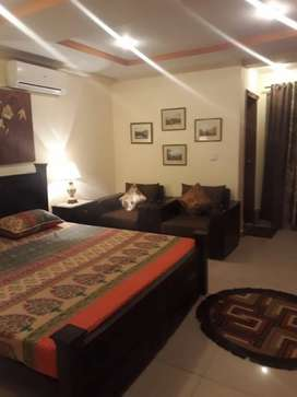 Beautifull one bed room full furnished for rent in Bahria town