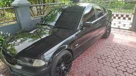 BMW 318 E46 black