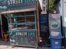 Food stall, deep freezer
