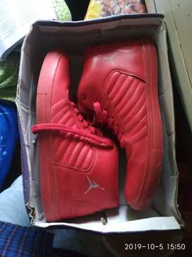 Red casual shoe  all new