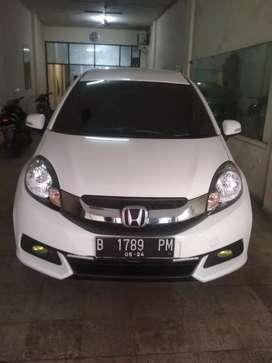 Honda Mobilio E AT Putih tgn 1 dr baru an sendiri.