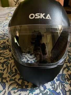 Riding helmet - Oska R2K steelbird helmet.