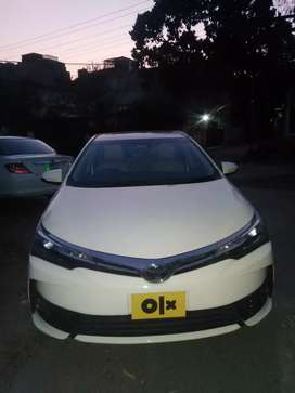 Toyota Corolla Altis Grande Full Optional Already Bank Leased