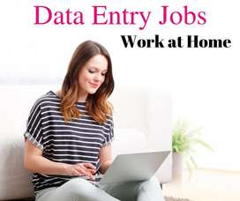 WEEKELY EARN HOME BASED WORK OF DATA ENTRY. PART TIKE JOB TYPING WORK