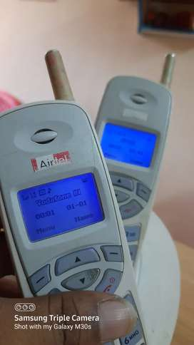 Airtel GSM mobile phone mint condition rare 2200rs each