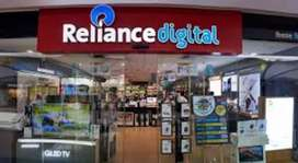 Welcome to Reliance jio company , Male and female candidet