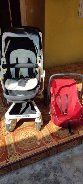 Stroller CocoLatte Quintas, Free Car Seat !!