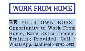 BE YOUR OWN BOSS OPPORTUNITY