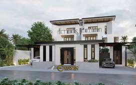 Jasa Arsitek Yogyakarta Desain Rumah 671.91m2 - Emporio Architect