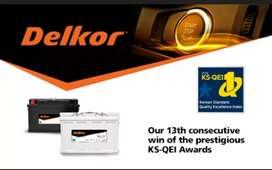 Aki mobil kering Delkor johnson control battery