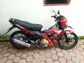 Suzuki Satria Fu th 2012 plat Bojonegoro surat lengkap