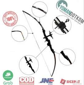 JH401 CDRIC Busur Panah Straight Archery Short Bow
