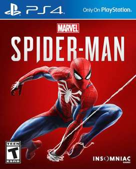 game ps4 spiderman marvel