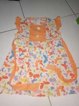"Dress bunga"" anak perempuan ."