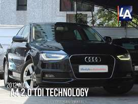 Audi A4 2.0 TDI (177bhp), Technology Pack, 2012, Diesel